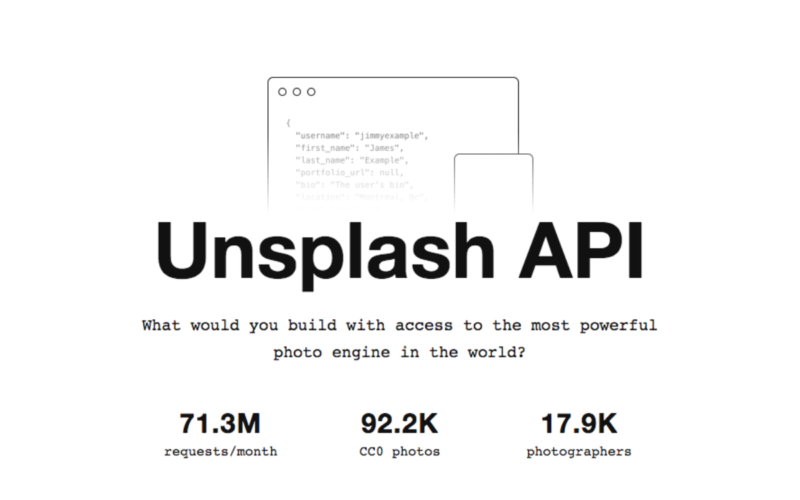 Bringing Unsplash to the masses: How and why we built our API