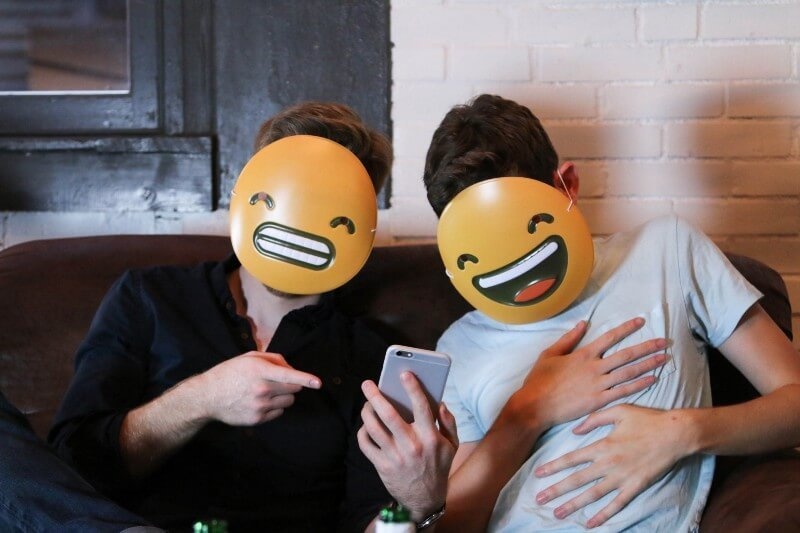 'Emoji Masks' – one of Need/Want's side projects